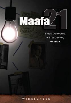 Maafa21 DVD COver