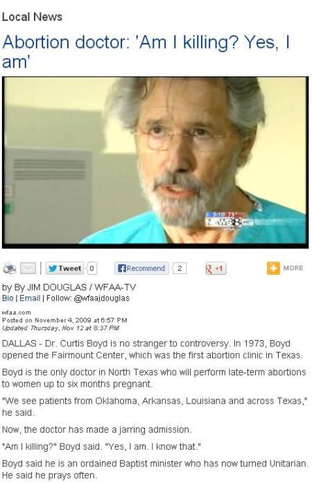 Boyd WFAA Article