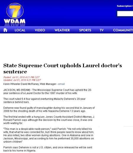 DeHenre SCOTUS upholds sentence