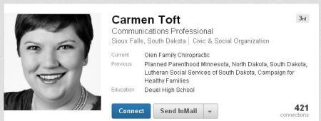 Carmen Toft Linkedin