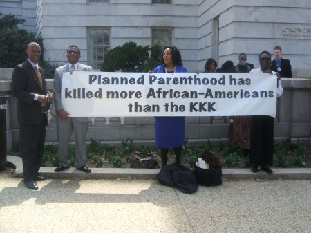 KKK Planned Parenthood