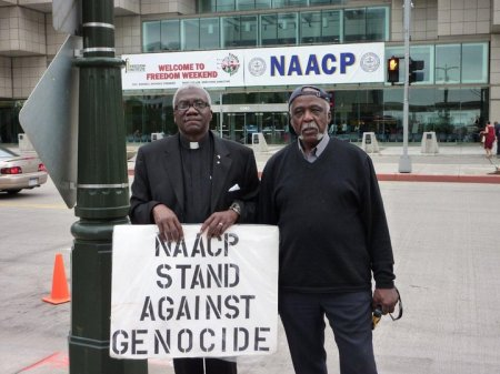 NAACP Picket 2010