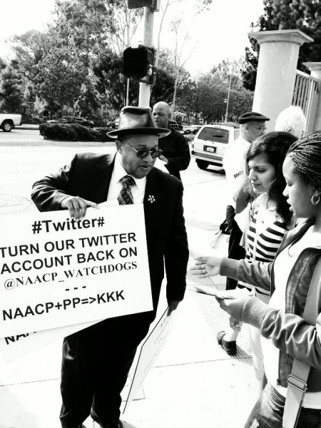 NAACP Picket