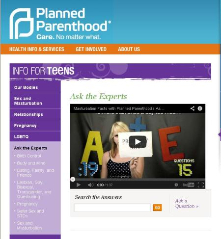 Planned Parenthood AsktheExperts