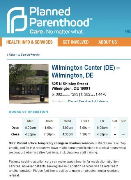 PP No Ab Wilmington