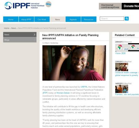 IPPF and UNFPA