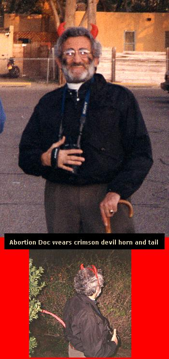 Lewis Koplick Crimson Horn Devil and Tail Abortionist