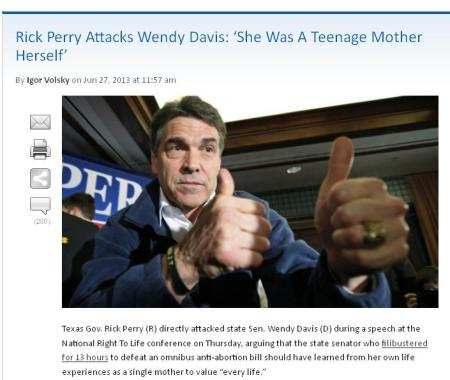 Perry Think Progress