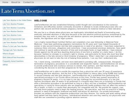 Late Term Abortion Net