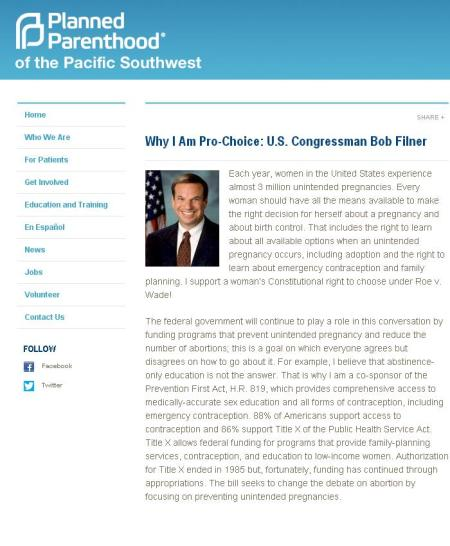 BobFilner PP Website