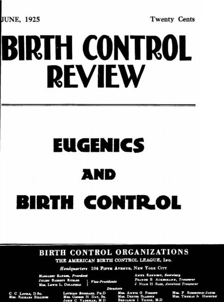 Eugenics and BC