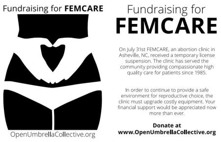 Open Umbrella Fundraiser for FemCare