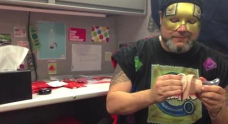 Condom Man Demo Insertion