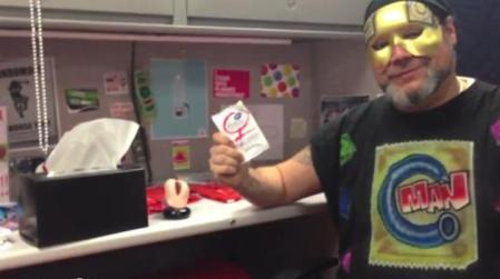 Condom Man Holding Condom