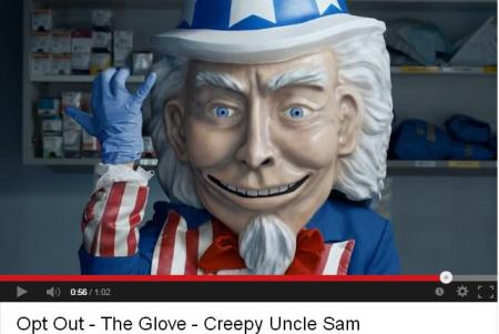 Creepy ObamaCare Glove