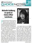 Michelle Goldberg PPSWCF