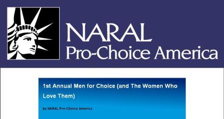 NARAL MenforChoice2013