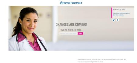 PP OBamaCare Website