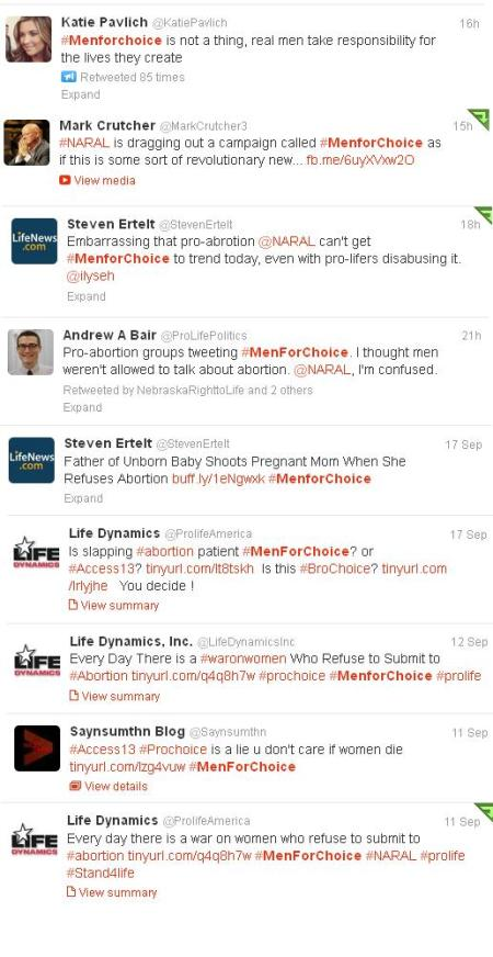 Prolife Tweets MFC