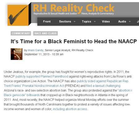 RH Reality NAACP PP