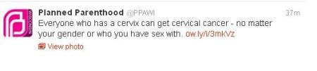 PP Cervix Tweet