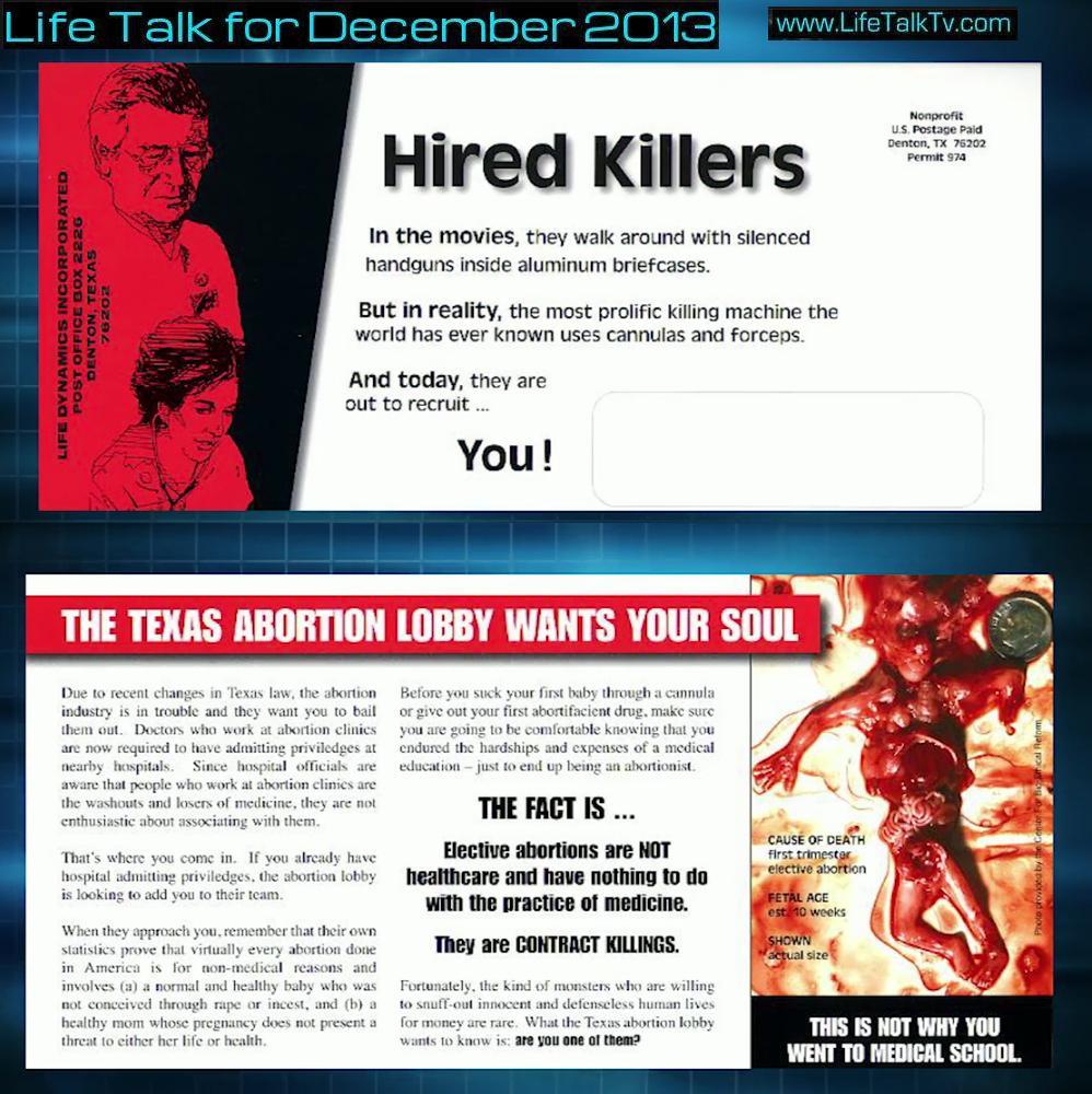 TX Mailers LIfe Talk Dec 2013 Life Dynamics