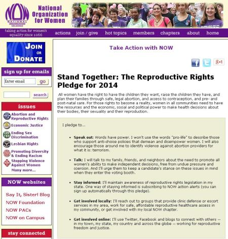 Abortion Rights Pledge