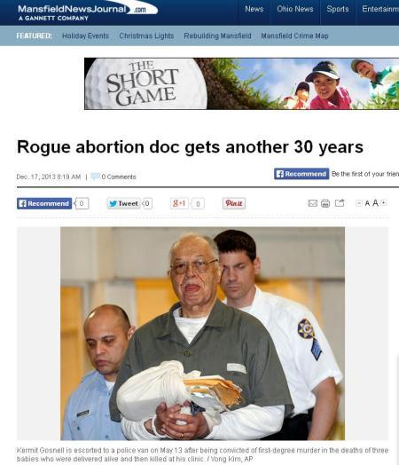 Gosnell ROGUE Headline