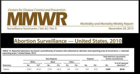 IND Abortion Statts 2010 CDC