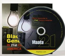 Maafa21 with DVD