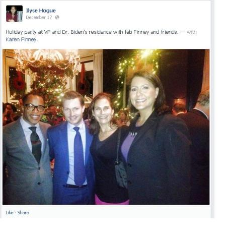 NARAL BIDEN HOLIDAY PARTY