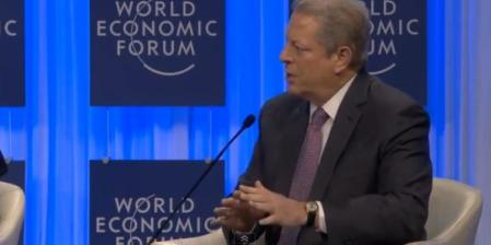 Al Gore World Ec Forum