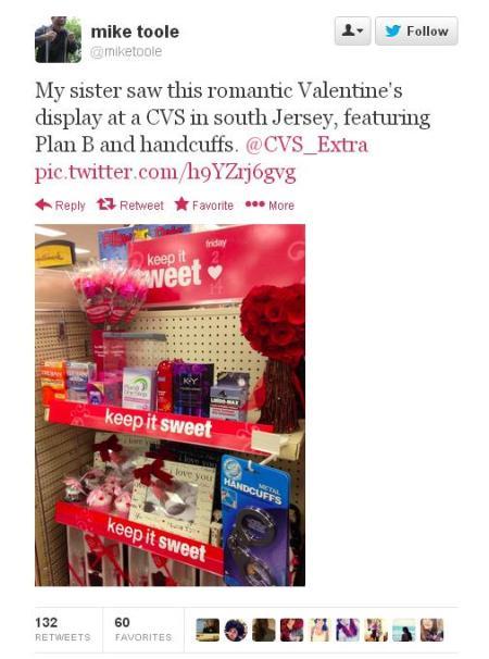 CVS Valentine Plan B