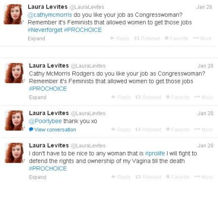 Laura Levites more tweets