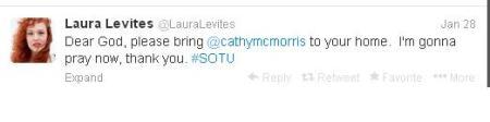 Laura Levites Tweet Rep