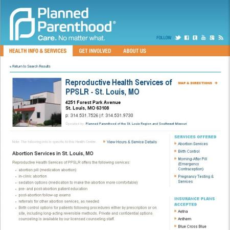 PP St Louis Abortions