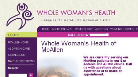 WWH McAllen Website stops ab