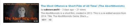 CreepyFilm on YouTube