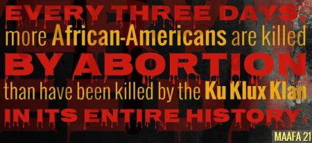 Every THree Days AA killed Ab than Klan Maafa21