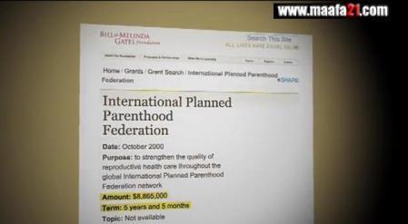 Gates Planned Parenthood Maafa21