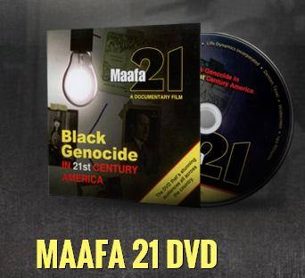 Maafa21 DVD NEW WEBSITE