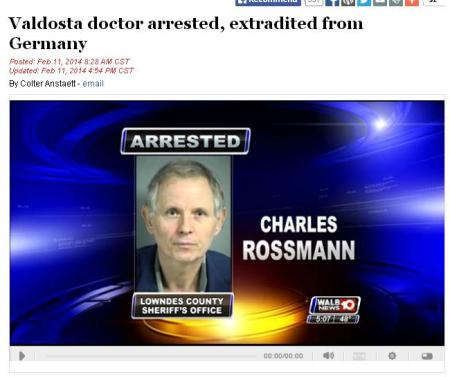 Rossman Charles Extradicted