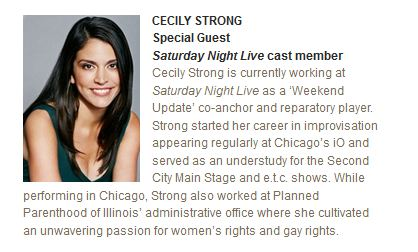 cecily strong stand up