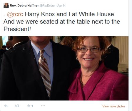 Haffer White House tweet