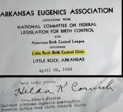 Hilda Cornish ARK eugenics Society letter