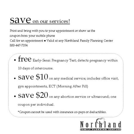 Northland Coupon