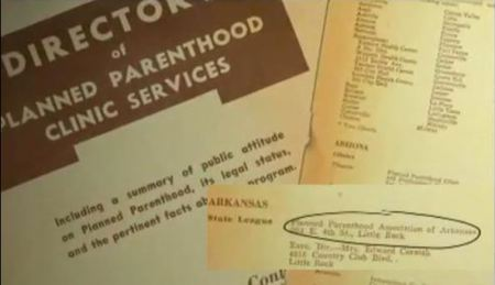 Planned Parenthood ARK eugenics society