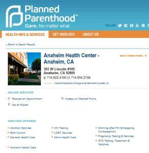 PP Anaheim abortion