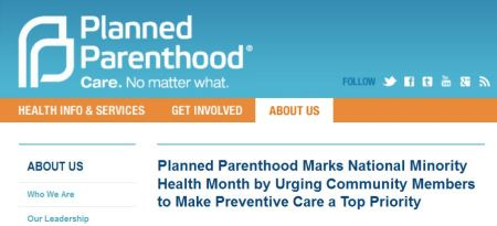 PP Nat Minority Health Month