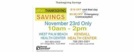 PP Thanksgiving Coupon